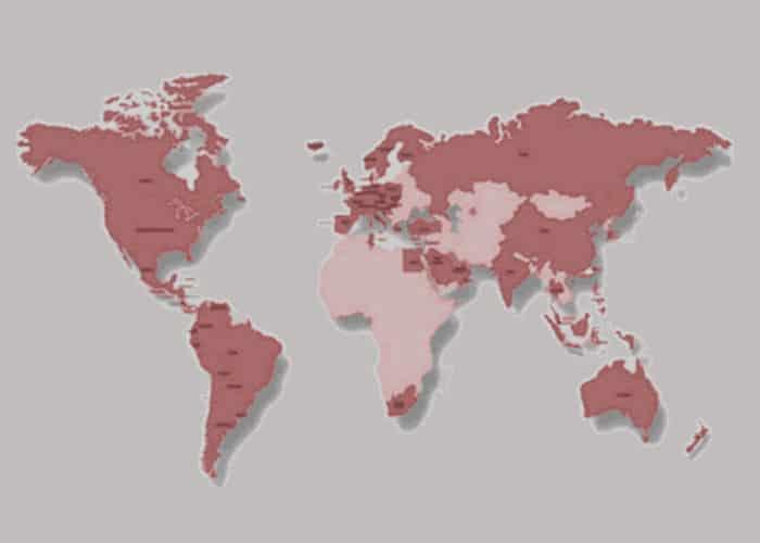 Tube pneumatique et solutions de transport : découvrez le leader mondial Aerocom - carte