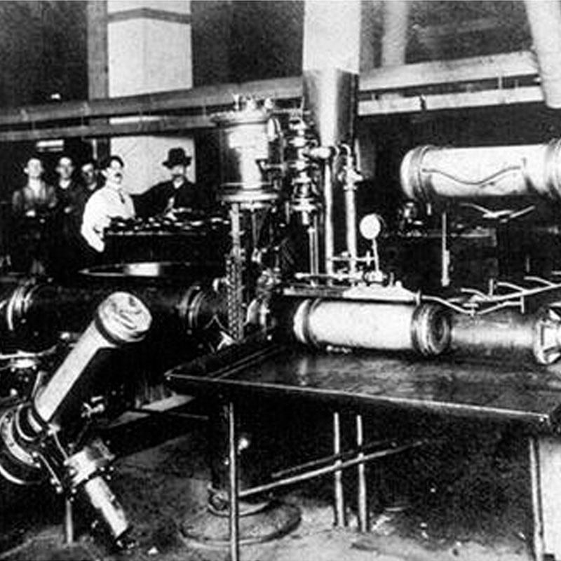 Histoire de l'évolution du système pneumatique