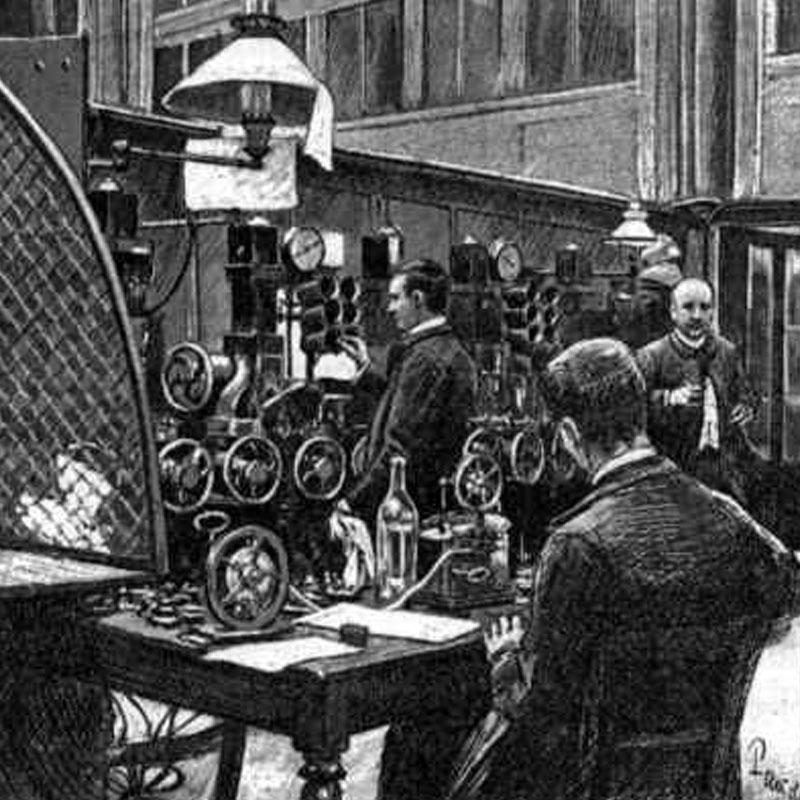 Pneumatique : historique de l'évolution du système