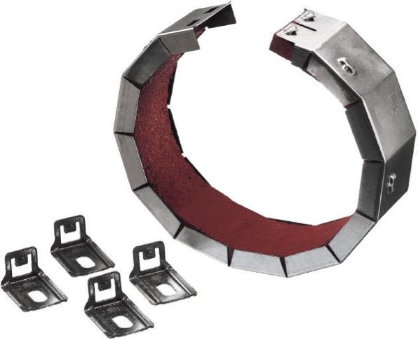 Système pneumatique : nos explications sur ses composants - manchon coupe-feu