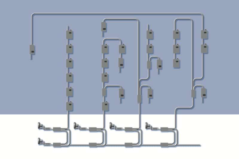 Transport pneumatique : découvrez les solutions Aerocom - installations mutli-lignes